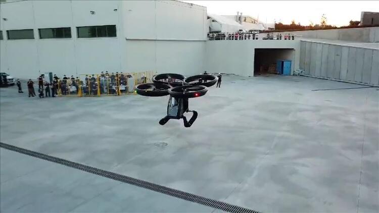 Cezeri: Türkiye'nin uçan arabası ilk uçuş testlerini başarıyla geçti