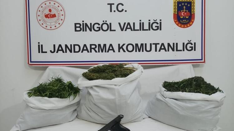 Bingöl'de uyuşturucu operasyonu: 5 gözaltı