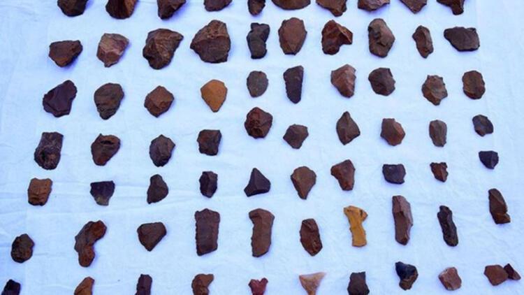 Tunceli'de çobanın taş aletler bulduğu yerde 'taş devri' kalıntılarına ulaşıldı