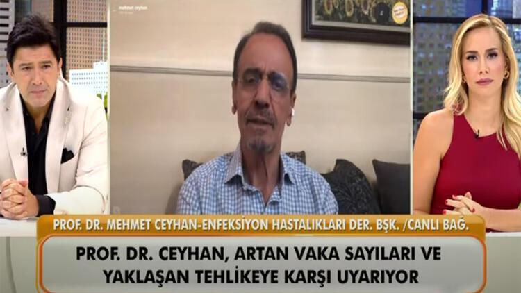 """Prof. Dr. Mehmet Ceyhan'dan """"A Rh+ kan grupları koronavirüsten daha fazla etkileniyor"""" iddiası cevap"""
