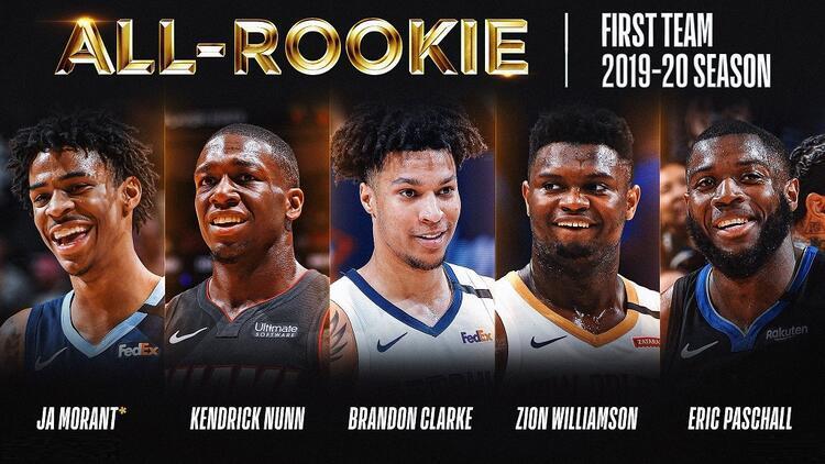 NBA'de yılın en iyi çaylak 5'leri belli oldu!