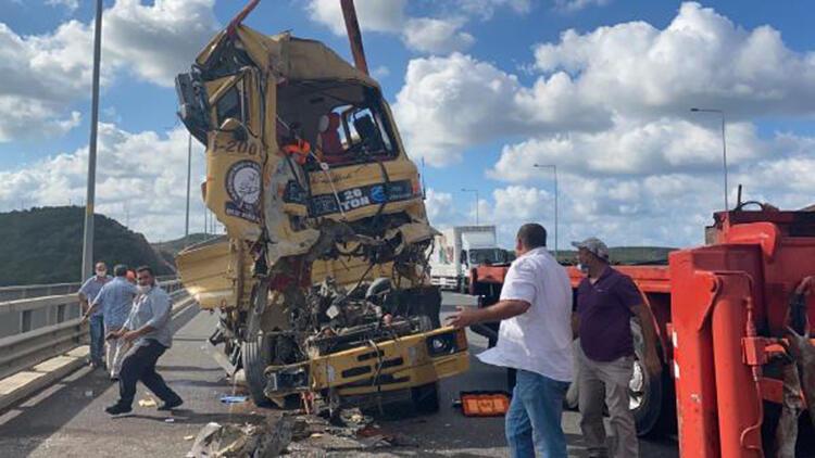 Kuzey Marmara Otoyolu Riva Kavşağı'nda kaza; 1 yaralı