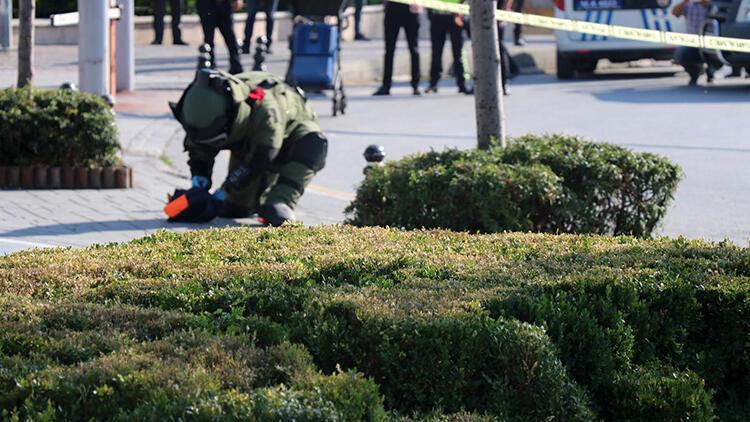 Bomba korkusu yaşatan çantadan çocuk kıyafetleri çıktı