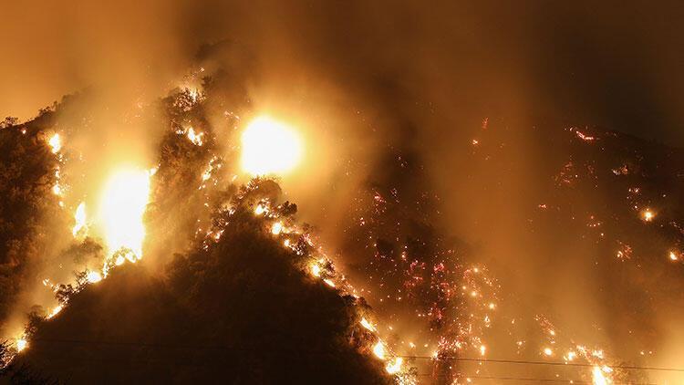 ABD'deki yangında korkutan haber! Bu hafta olması bekleniyor