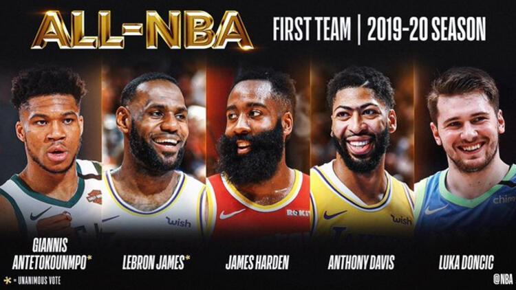 Son Dakika Haberi   NBAde yılın 5leri belirlendi