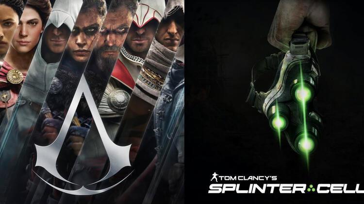 Assassin's Creed ve Splinter Cell'in VR oyunları geliyor