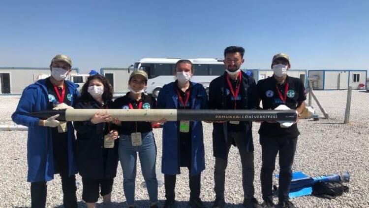 Pamukkale Üniversitesi'nin roket takımından TEKNOFEST 2020'de önemli başarı