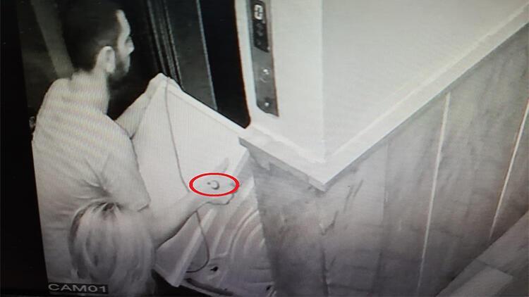 100 bin liralık hırsızlık şüphelisi elindeki dövmeden yakalandı