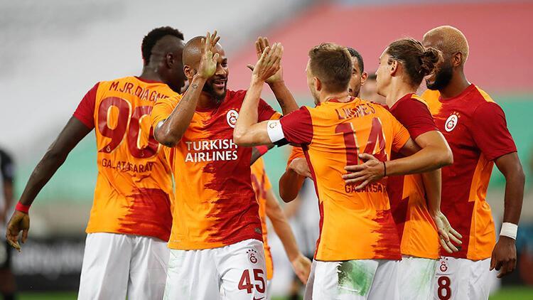 Neftçi Bakü 1 - 3 Galatasaray - MAÇIN ÖZETİ VE GOLLERİ