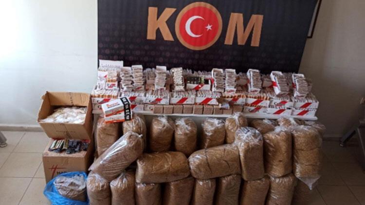 Aydın'da 'kaçak tütün' operasyonu: 2 gözaltı