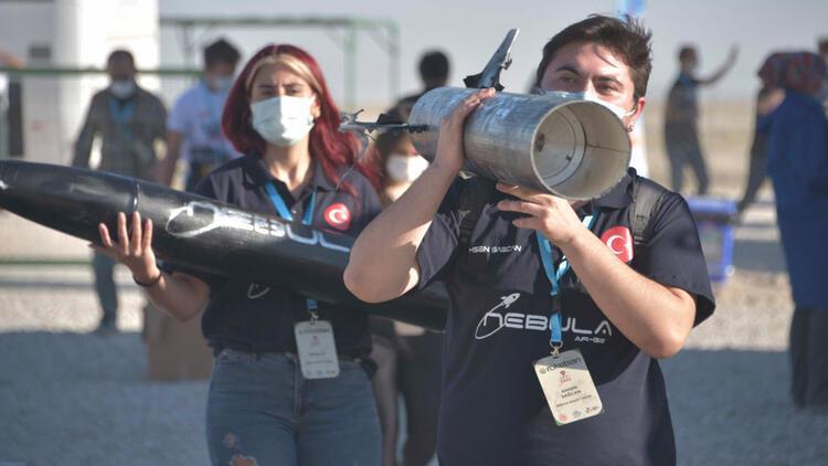 Roketsan Roket Yarışması'nın kazananları açıklandı