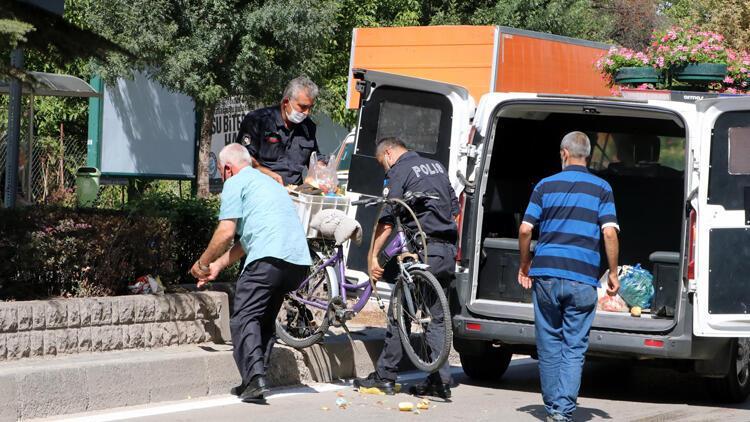 Eskişehir'de otomobilin çarptığı 78 yaşındaki bisikletli hayatını kaybetti