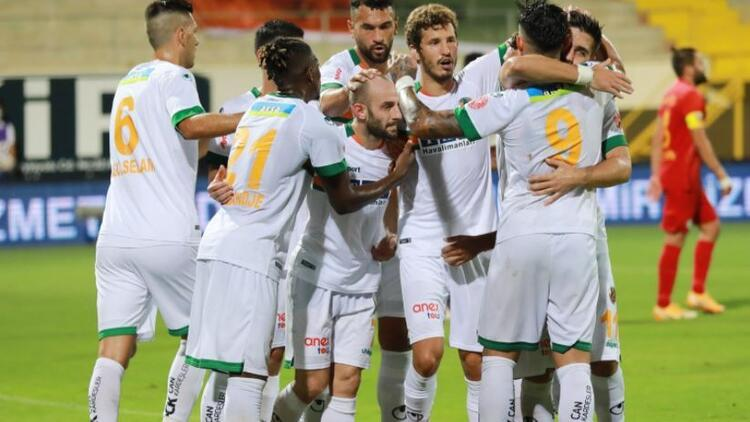 Alanyaspor 2-0 Kayserispor