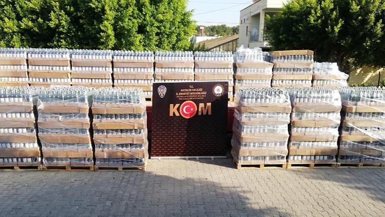 Antalya'da 5 yıldızlı otele sahte içki operasyonu