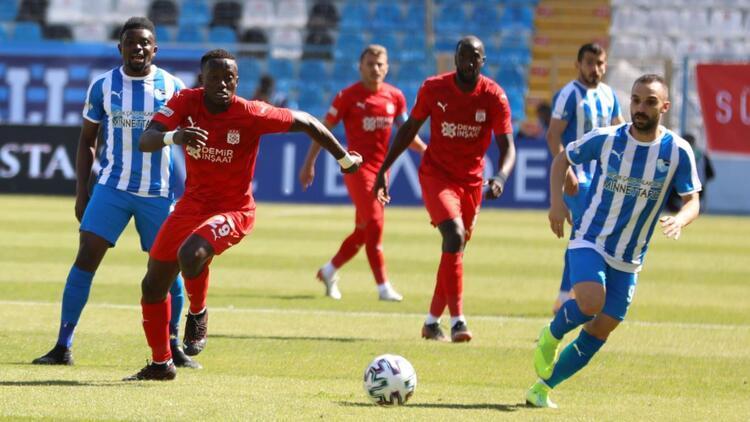 BB Erzurumspor 1-2 Sivasspor | Maçın özeti