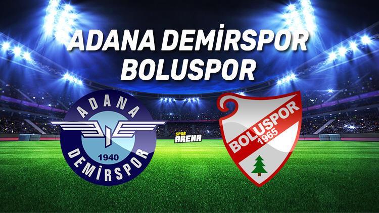 Adana Demirspor Boluspor maçı ne zaman, saat kaçta, hangi kanalda?