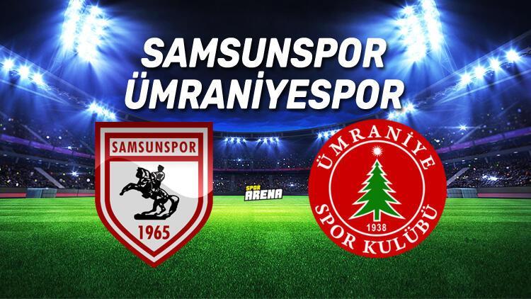 Samsunspor Ümraniyespor maçı ne zaman, saat kaçta, hangi kanalda?