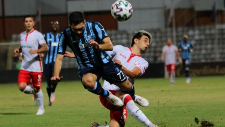 Adana Demirspor: 1 - B. Boluspor: 1