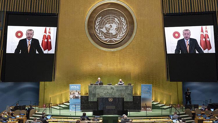 Erdoğan'dan BM mesajı: Konsey'e adil mimari zorunlu