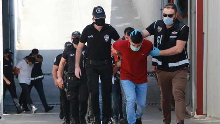 Adana'da silahlı suç örgütüne operasyonda 13 tutuklama