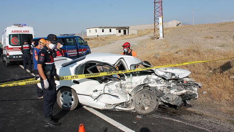 Aksaray'da feci kaza: 1 ölü, 6 yaralı