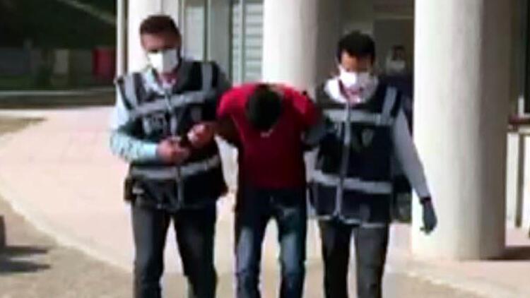 Polis otosundan elleri kelepçeli kaçtı, metruk binada yakalandı