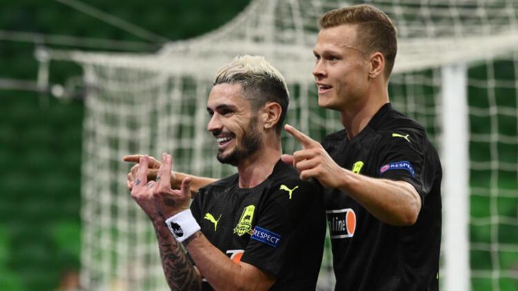 Şampiyonlar Ligi play-off turu ilk ayağında 3 maç oynandı