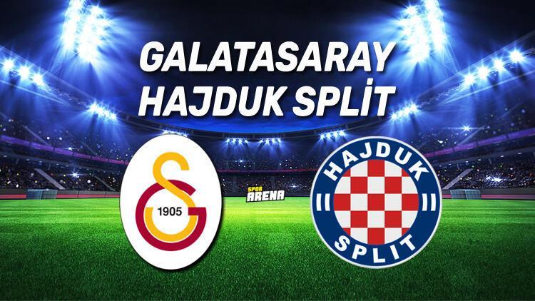 Galatasaray Hajduk Split maçı ne zaman, saat kaçta, hangi kanaldan canlı yayınlanacak?