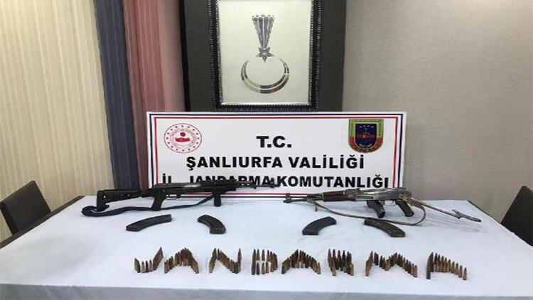 Viranşehir'de silah kaçakçılığına 2 gözaltı