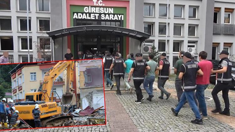 Son dakika haberler: Sel felaketinin vurduğu Dereli'de çete operasyonu... 'Tonyalılar' tutuklandı!