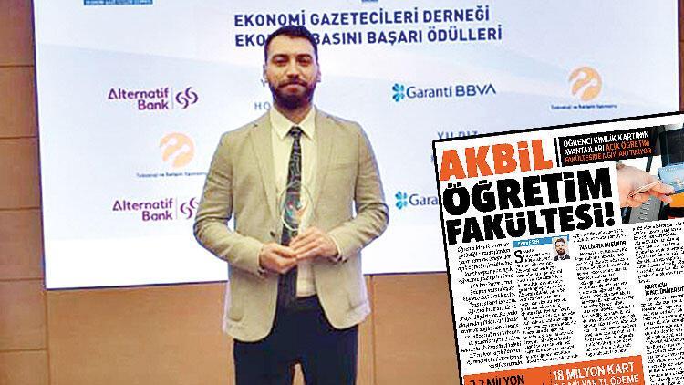 Yılın haberi ödülü Hürriyet'e