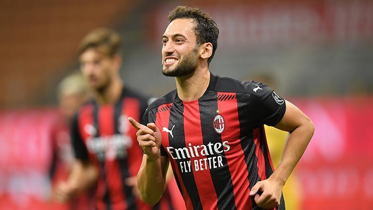 Son Dakika | Hakan Çalhanoğlu coştu, Milan 3 golle turladı!