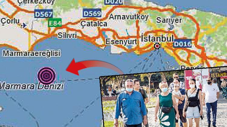 İstanbul'da 4.2'lik korku