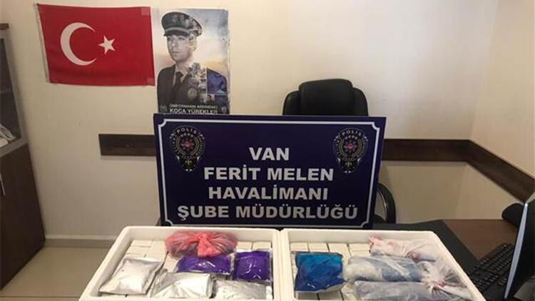 Van'da, havalimanında 224 kaçak botoks dolgu ürünü ele geçirildi