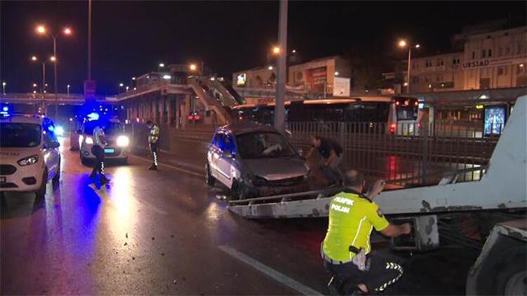 Avcılar'da trafik kazası: 1 yaralı
