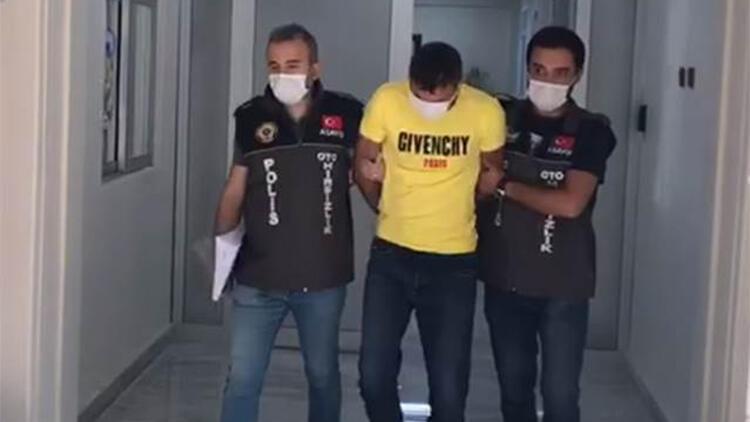 Ankara'da, hırsızlık şüphelisi yakalandı