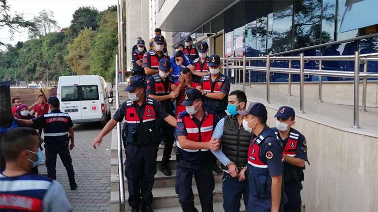 Zonguldakta kablo hırsızlığından gözaltına alınan 5 zanlıdan 4ü tutuklandı