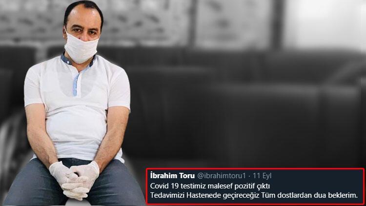 Yerel televizyon sahibi İbrahim Toru COVİD-19dan hayatını kaybetti 14 gün önce...