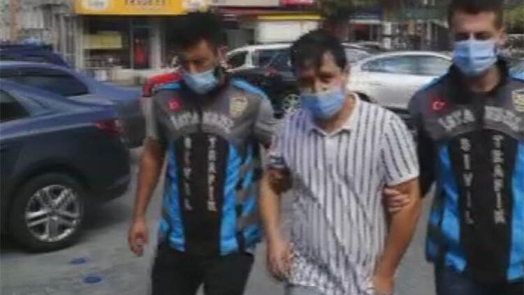 TEM otoyolu'nda 'makas' atan maganda yakalandı