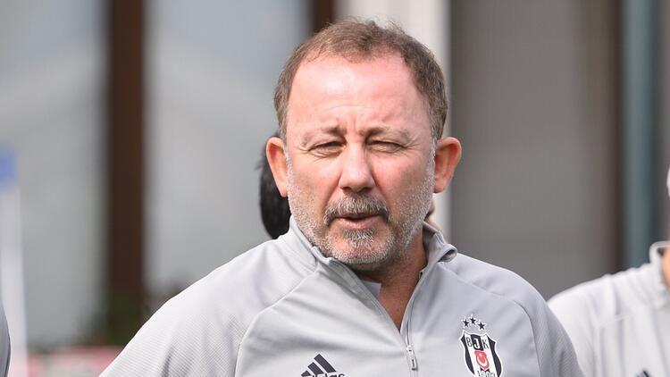 Beşiktaş, Konyaspor hazırlıkları başladı Sergen Yalçın idmanda...