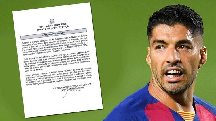 Juventus avukatları, Luis Suarez'in tartışmalı İtalyanca dil sınavı için savcılarla görüştü!