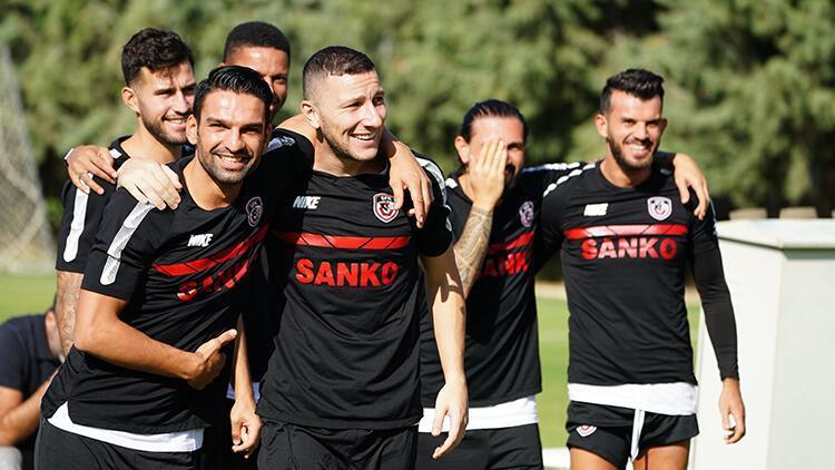 Gaziantep FK, Göztepe maçının hazırlıklarını tamamladı