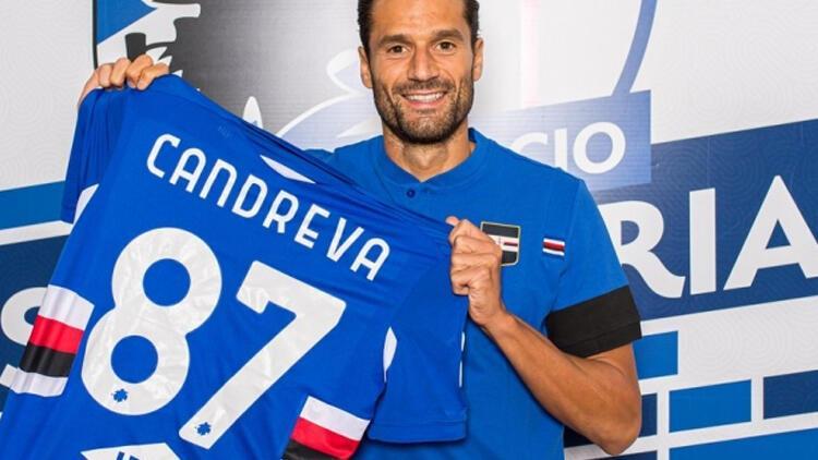 Son dakika transfer haberi   Sampdoria, Candreva'yı Inter'den kiraladı