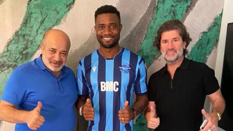 Son dakika transfer haberi | Aurelien Chedjou Adana Demirspor'da