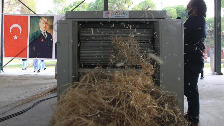 Türk mühendisler kenevir lif sıyırma makinesi geliştirdi