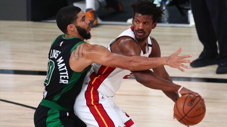 NBA'de Boston Celtics, Miami Heat karşısında pes etmedi