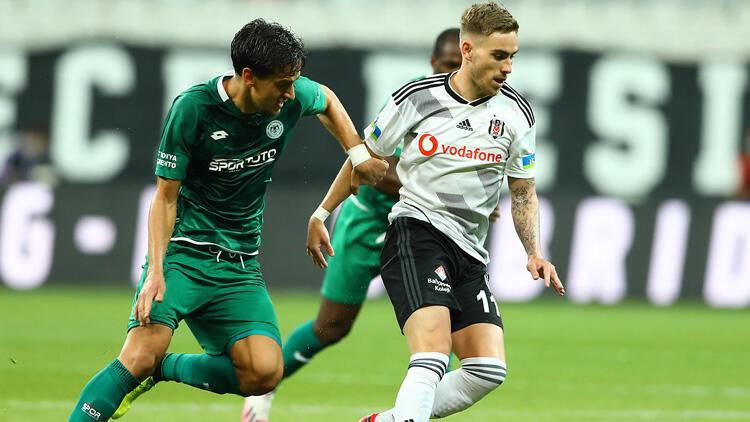 Beşiktaş ile Konyaspor 39 randevuda