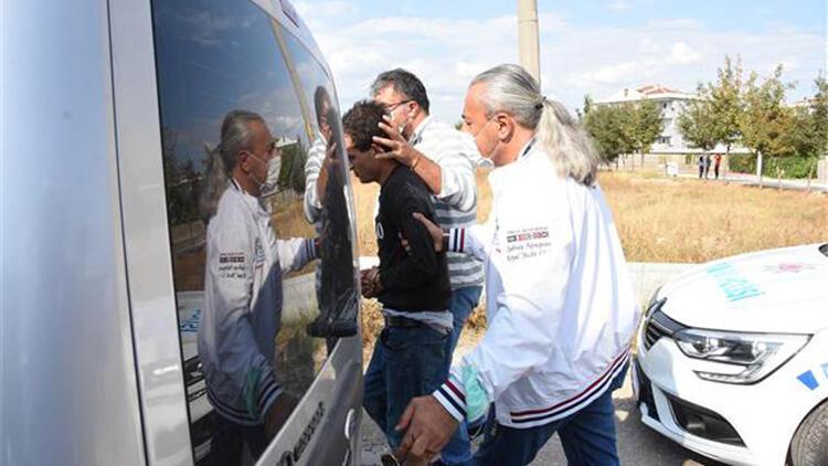 21 yaşındaki cezaevi firarisi çaldığı otomobille yakalandı, 112 sabıkası çıktı