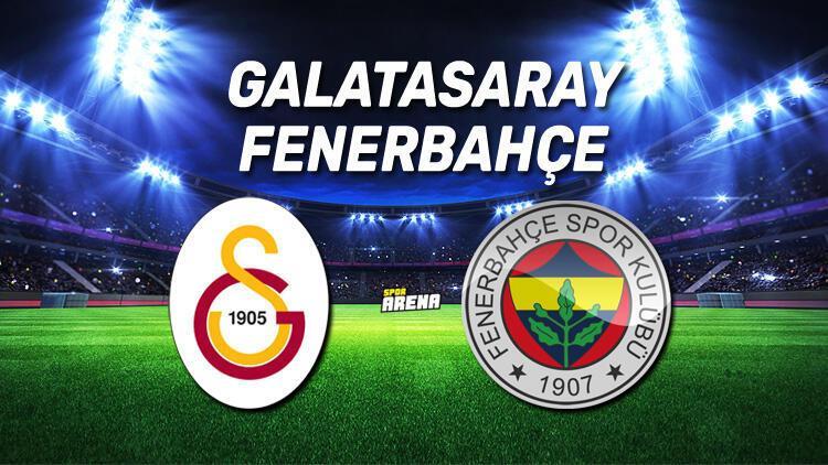 Galatasaray - Fenerbahçe maçı ne zaman saat kaçta, hangi kanalda yayınlanacak? İşte GS-FB maçının detayları…