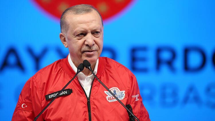 Son dakika haberler... Cumhurbaşkanı Erdoğan'dan TEKNOFEST 2020'de flaş açıklamalar